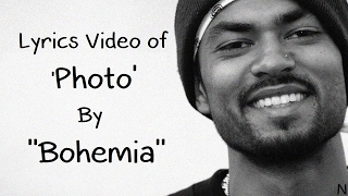 BOHEMIA - Lyrics Video of Song