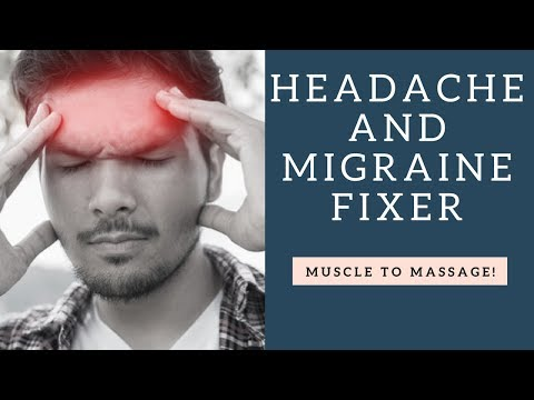 How To Get Quick Headache And Migraine Pain Relief By Massaging Your Corrugator Supercilii Muscle