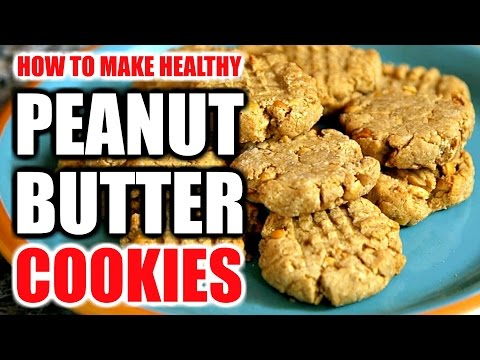 BEST PEANUT BUTTER PROTEIN COOKIES RECIPE | How To Make Healthy Peanut Butter Protein Cookies