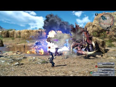 FINAL FANTASY XV - 9999 Max Damage Magic Attack & Magic Counter [Judgment Disc Demo]