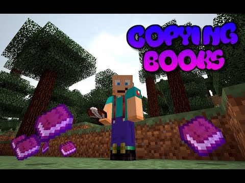 How To Copy Signed Books in Minecraft Console Editions (PS4)