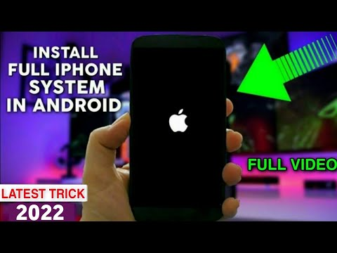 Install iOS 11 System In Any Android 2018