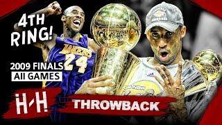 Kobe Bryant 4th Championship, Full Series Highlights vs Magic (2009 NBA Finals) -  Finals MVP! HD