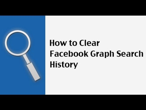 How to Delete Facebook Graph Search History