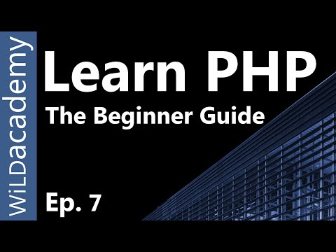 Learn PHP - PHP Programming Tutorial - 7