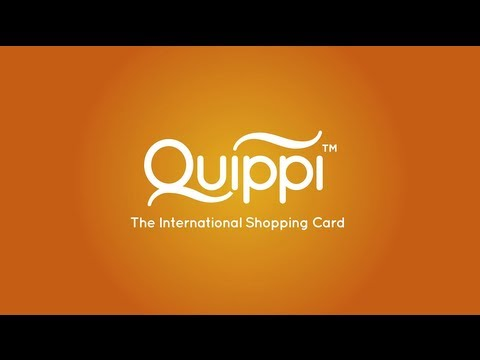 Quippi - The International Shopping Card with no fees or hidden charges