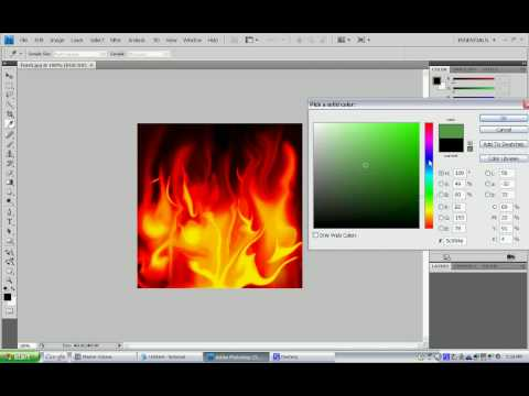 How to Change the Color of Pictures in Photoshop