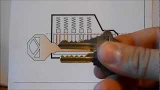 How To Unlock A Schlage Lock With A Bump Key And How To Make It