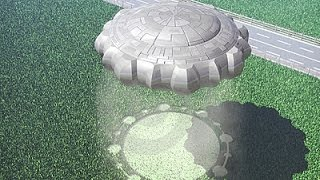 Alien UFO Caught On Camera Making Crop Circles For The First Time In Stunning HD Quality