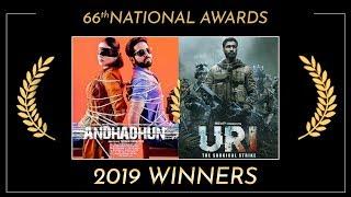 National Film Awards 2019: 'Andhadhun', 'Uri: The Surgical Strike' bag awards | Full List