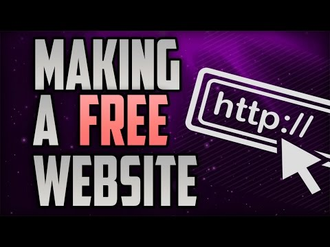 How To Make a Free Website with a Free Domain Name 2015  Part 1/2 HD