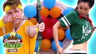 PUNISHMENT ARCHERY (Smosh Summer Games)