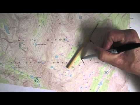 Identify the Geologic Feature: Mount Jackson Quadrangle