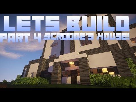 Minecraft: Modern House Building Part 4 - Office Furniture
