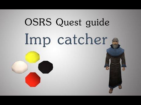 Imp Catcher SpeedRun quest guide osrs