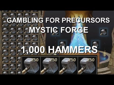 Mystic Forge Gambling 1,000 Hammers (rare)  |  Guild Wars 2