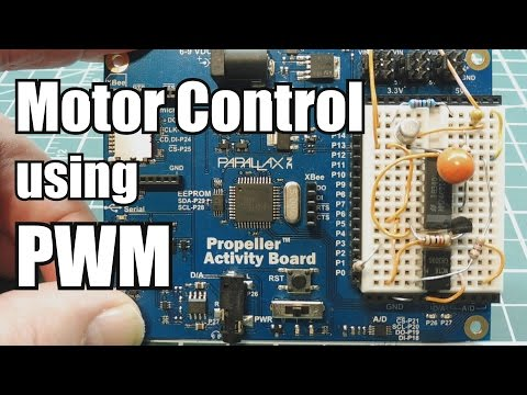 3 Phase Motor Control using PWM  / Parallax Propeller