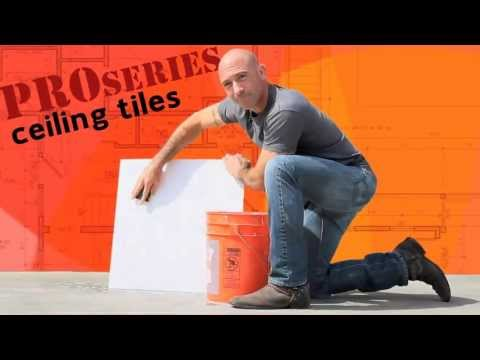 ProSERIES - How-to clean ceiling tiles