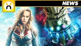 Captain Marvel CONFIRMED for Avengers 4, NOT in Infinity War