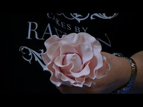 Easy Basic Gumpaste Rose