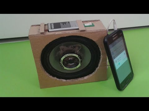 How to Make a Speaker Amplifier at Home