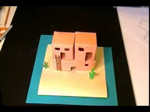 Pueblo Adobe Houses