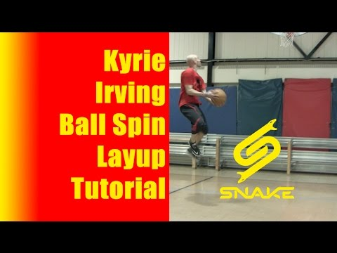 How To KYRIE IRVING Layup Drills: Ball Spin Highlights Move Tutorial