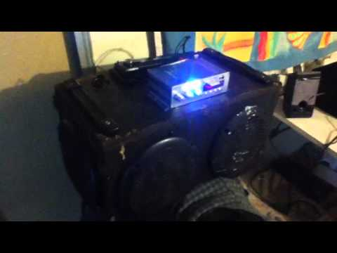 DIY portable 12 volt stereo
