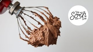 Download HOW TO MAKE CHOCOLATE GANACHE FROSTING - The Scran Line Video