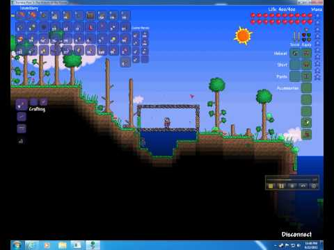 Terraria - Tshock -  logs, whisper, annoy, kill, butcher, give items, heal