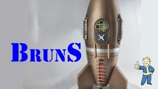 My hardest project: Fallout Big Bronze Red Rocket 2