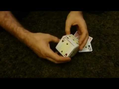 How To Make Dice With Playing Cards! (Card Box)