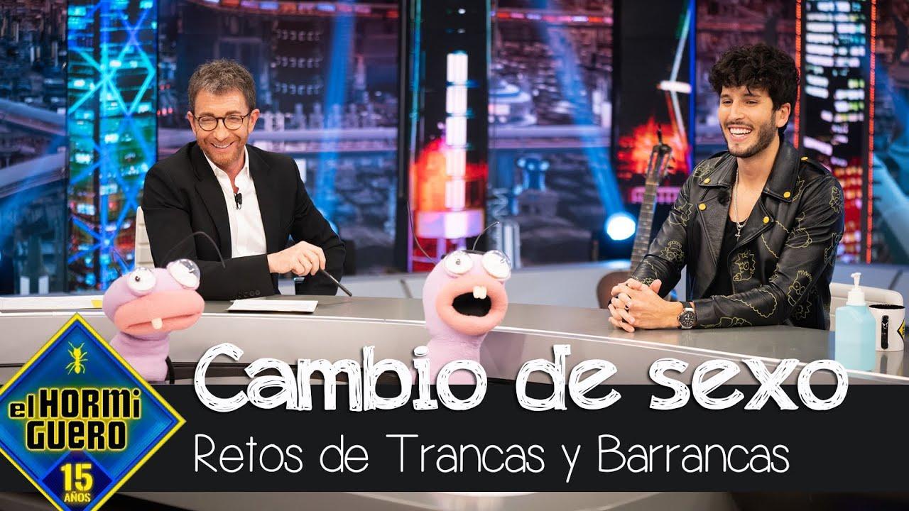 Sebastián Yatra juega con Trancas y Barrancas a los cambios de sexo - El Hormiguero