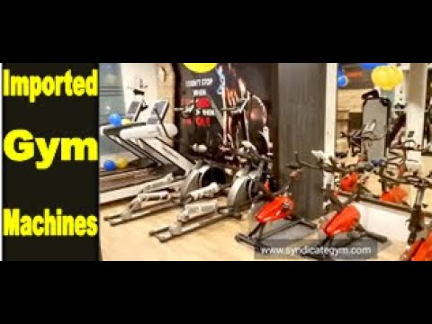 Imported Gym Equipment in India   Syndicate