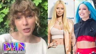 Taylor Swift SLAMMED for NBA Awards Video - Iggy Azalea Claps Back at Halsey (DHR)