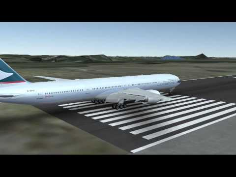 Cathay Pacific TAKE OFF!!!