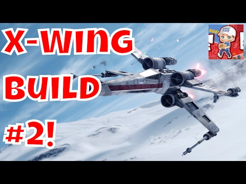 Build your own X-Wing De Agostini  #2!