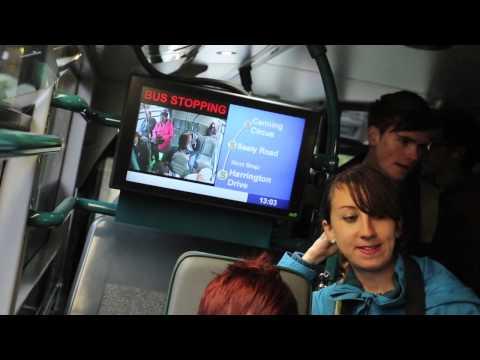Nottingham MP travels blindfolded on Nottingham City Transport bus for Guide Dogs Week