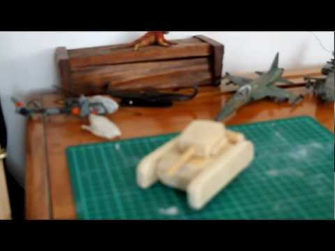 Wooden Tank. watch in high quality