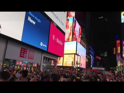 Time square October 2017