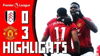 Highlights | Fulham 0-3 Manchester United | Pogba & Martial take the Reds into the Top 4