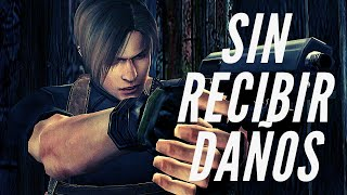Resident Evil 4 SIN RECIBIR DAÑOS!!! | Partida Nueva | Dificultad Profesional (PS4)