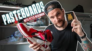 PASTEBOARDS with Peter McKinnon - Sneakers & Cards
