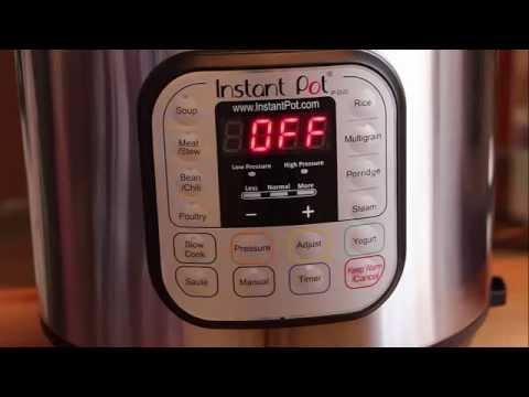 Instant Pot IP DUO60 7 in 1 Programmable Pressure Cooker