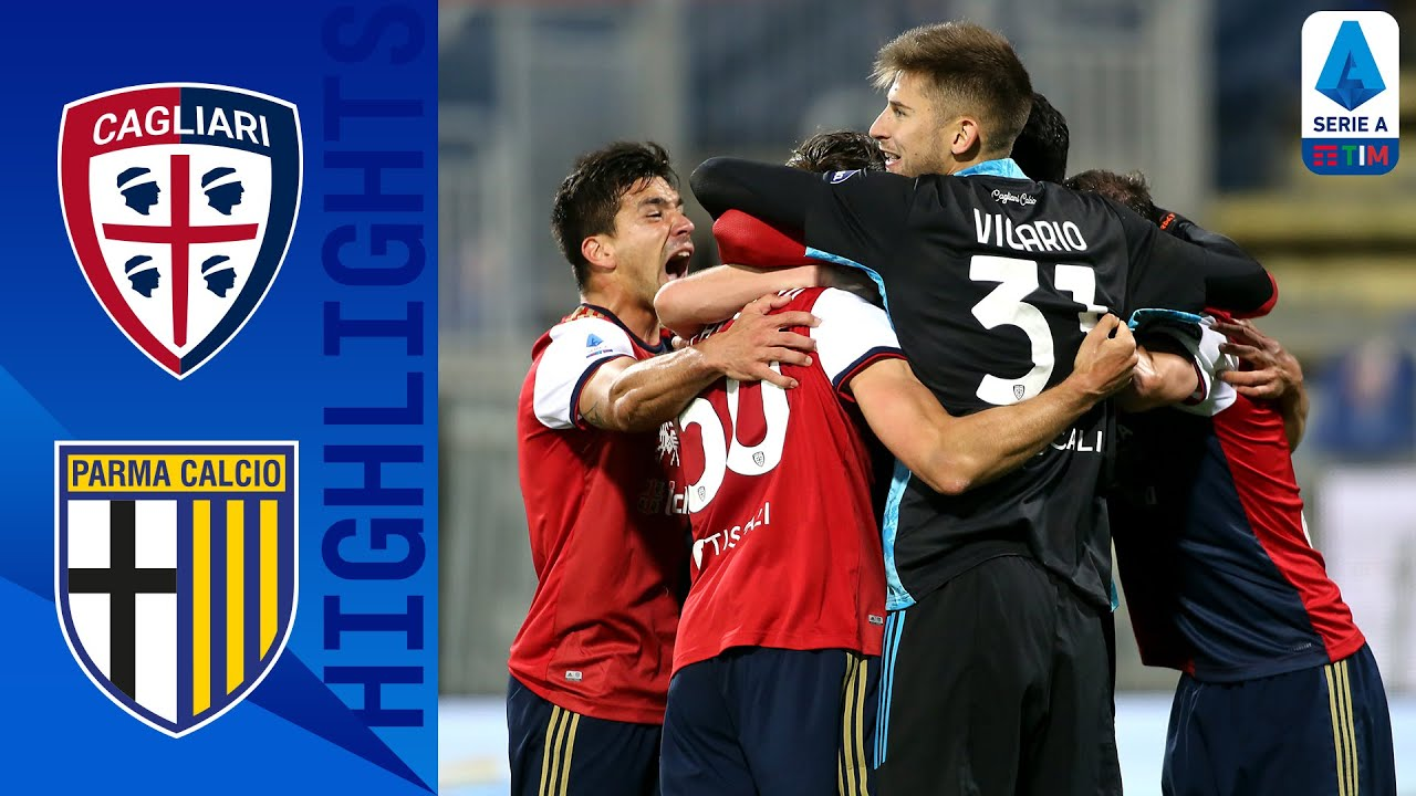 Cagliari 4-3 Parma   Last Second Winner in Seven-Goal Thriller!   Serie A TIM