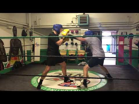 Sparring needs lot of work