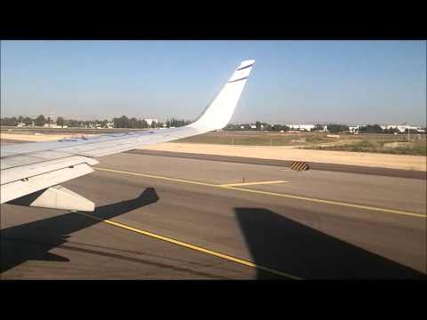 landing and takeoff Tel Aviv