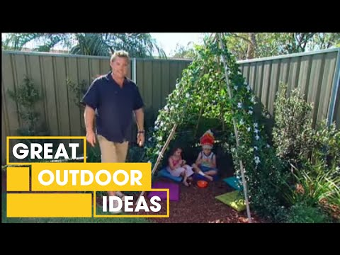 Build Your Own DIY Kids' Corner Teepee | Gardening | Great Home Ideas