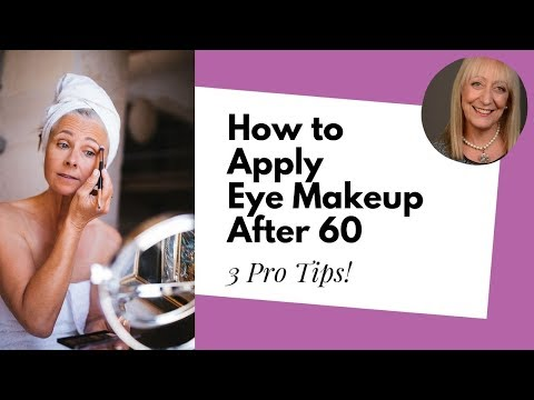 This is The *BEST* Way To Apply Eyeliner After 60! ;) | Makeup for Older Women Tutorial