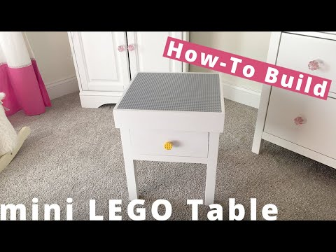 How to Build a Mini Lego Table DIY Project | Woodworking